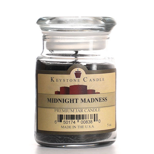 5 oz Midnight Madness Jar Candles