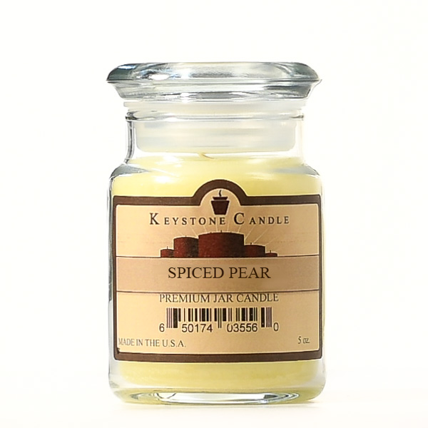 5 oz Spiced Pear Jar Candles