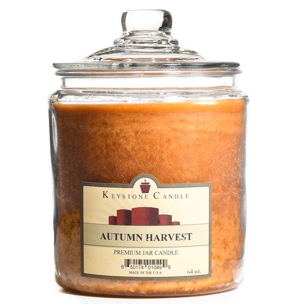 64 oz Autumn Harvest Jar Candles