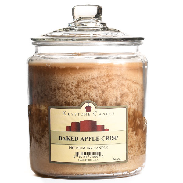64 oz Baked Apple Crisp Jar Candles
