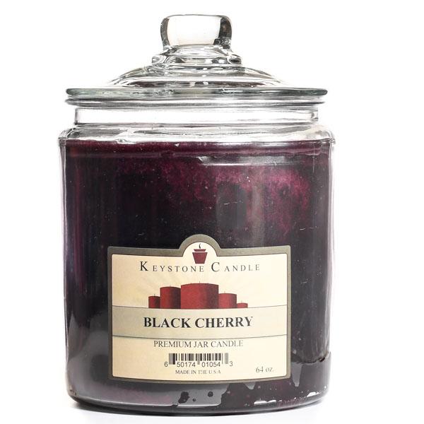 64 oz Black Cherry Jar Candles