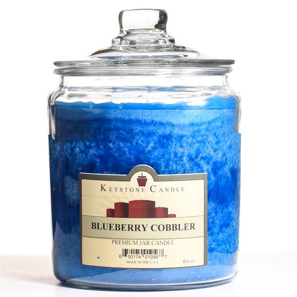 64 oz Blueberry Cobbler Jar Candles