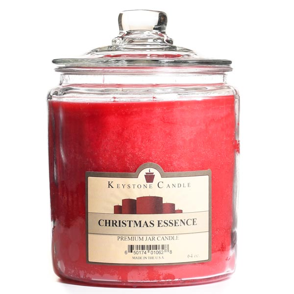 64 oz Christmas Essence Jar Candles