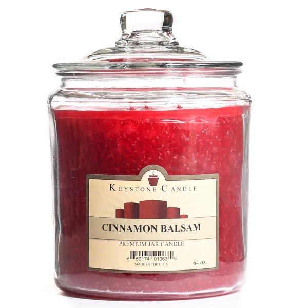64 oz Cinnamon Balsam Jar Candles