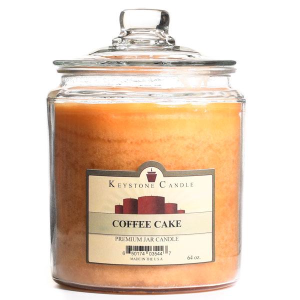64 oz Coffee Cake Jar Candles