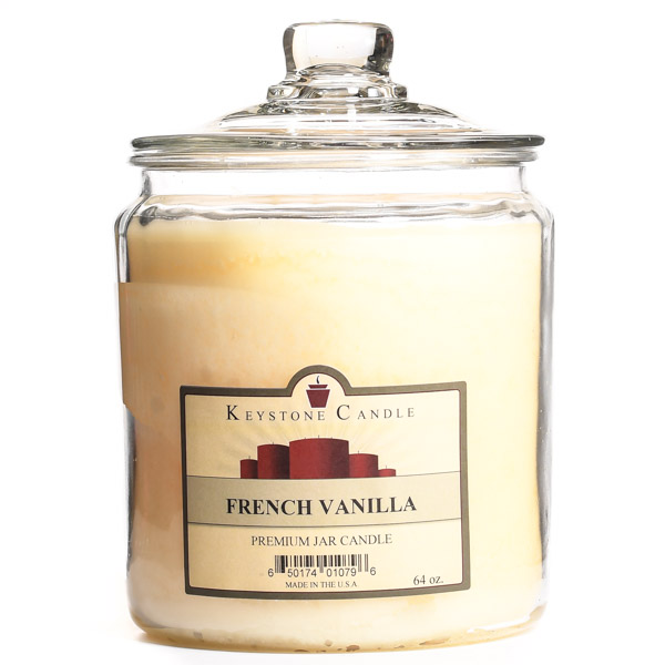 64 oz French Vanilla Jar Candles