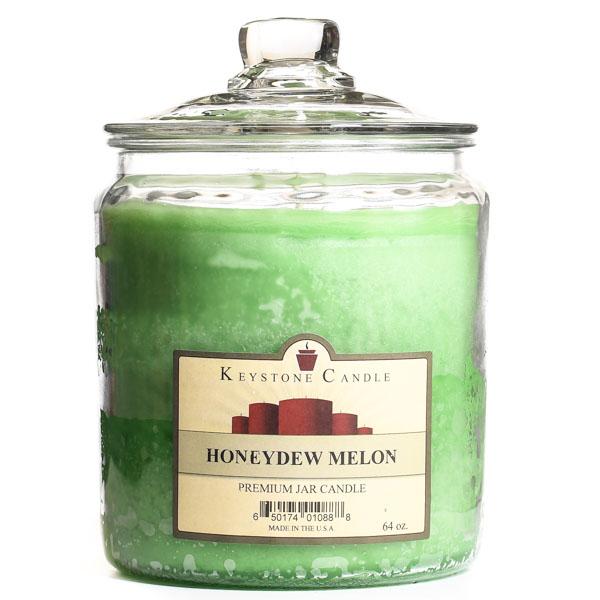 64 oz Honeydew Melon Jar Candles