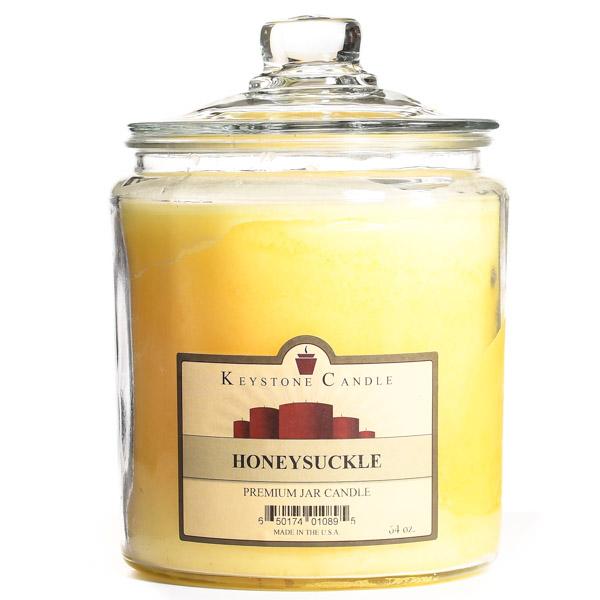 64 oz Honeysuckle Jar Candles