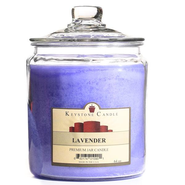 64 oz Lavender Jar Candles