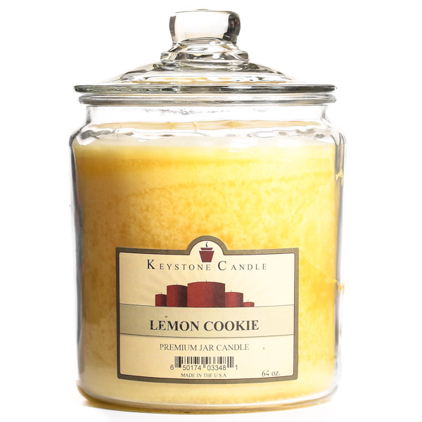 64 oz Lemon Cookie Jar Candles