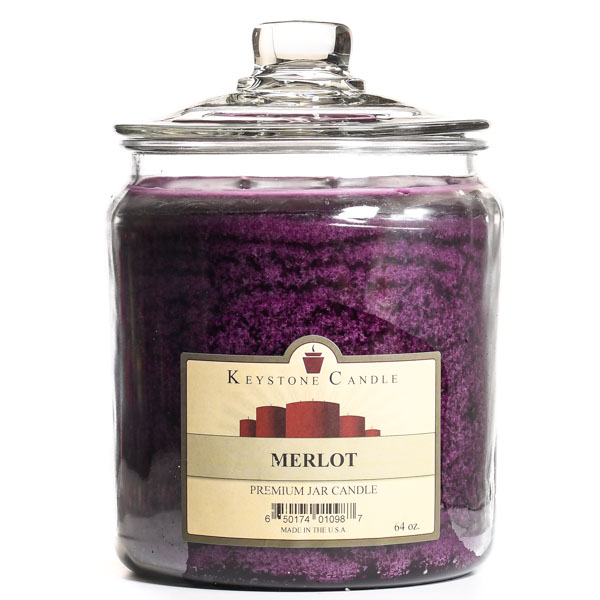 64 oz Merlot Jar Candles