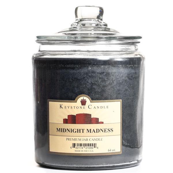64 oz Midnight Madness Jar Candles