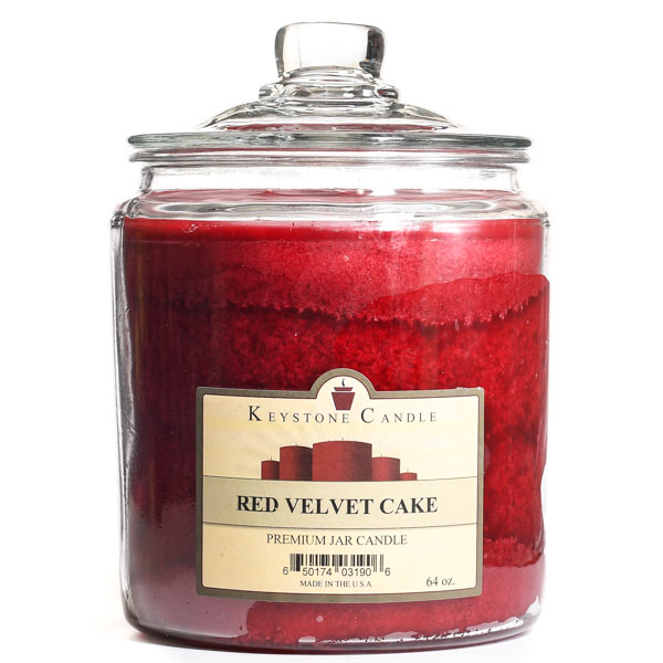 64 oz Red Velvet Cake Jar Candles