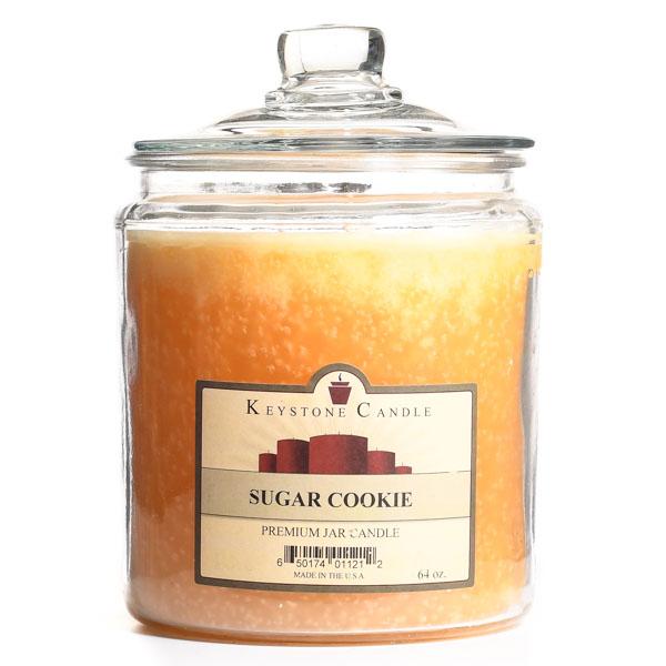 64 oz Sugar Cookie Jar Candles