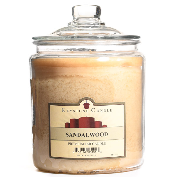 64 oz Sandalwood Jar Candles