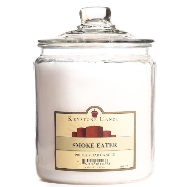 64 oz Smoke Eater Jar Candles