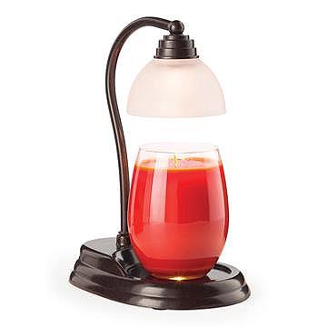 Lamp Candle Warmer Aurora Bronze