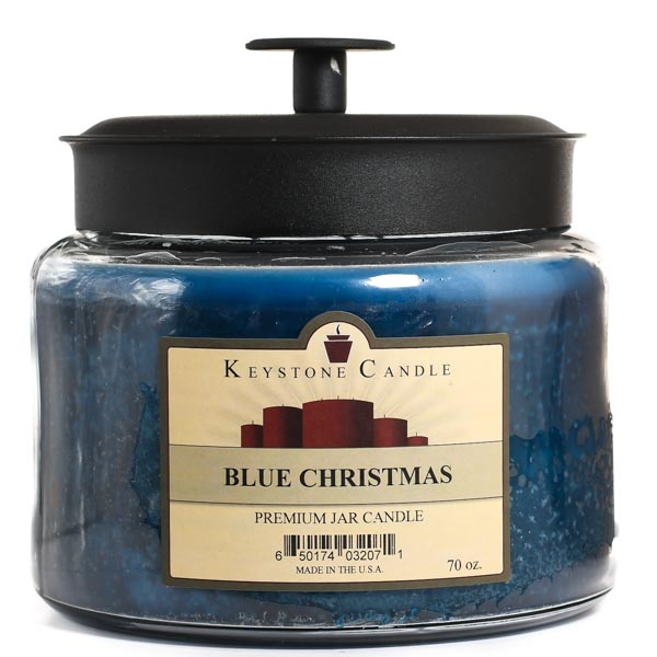 70 oz Montana Jar Candles Blue Christmas