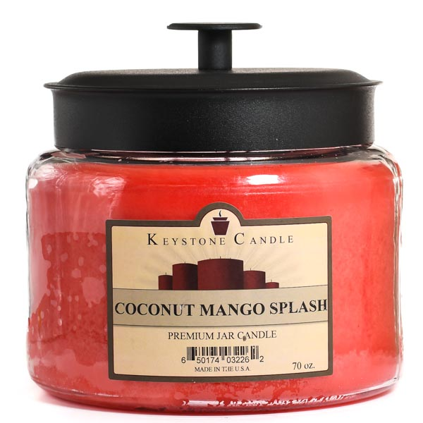 70 oz Montana Jar Candles Coconut Mango Splash