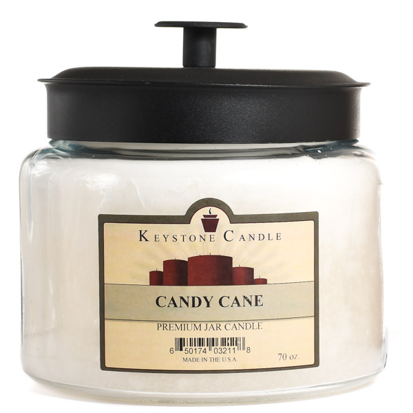 70 oz Montana Jar Candles Candy Cane