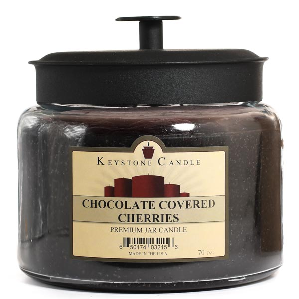 70 oz Montana Jar Candles Chocolate Covered Cherries