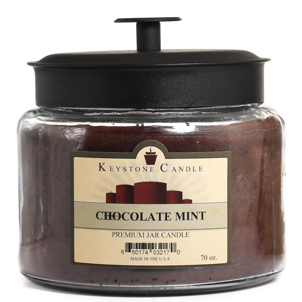70 oz Montana Jar Candles Chocolate Mint