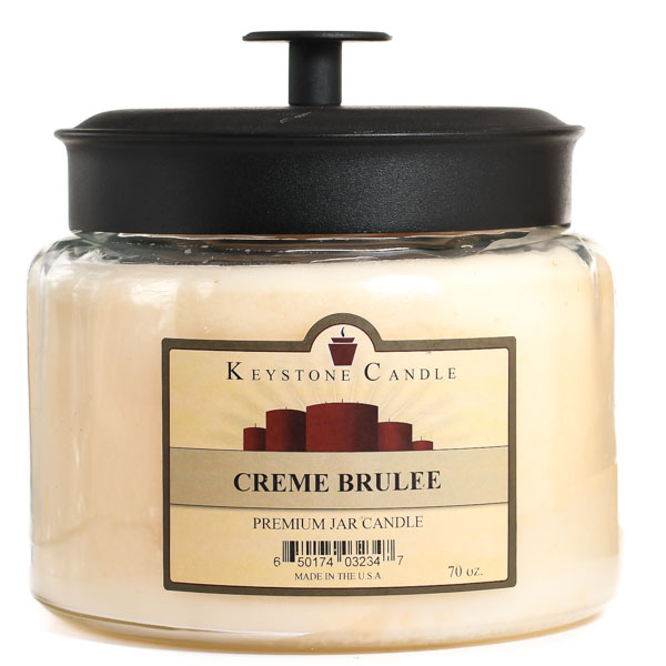 64 oz Montana Jar Candles Cream Brulee