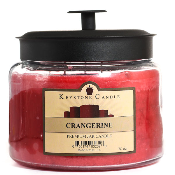 70 oz Montana Jar Candles Crangerine