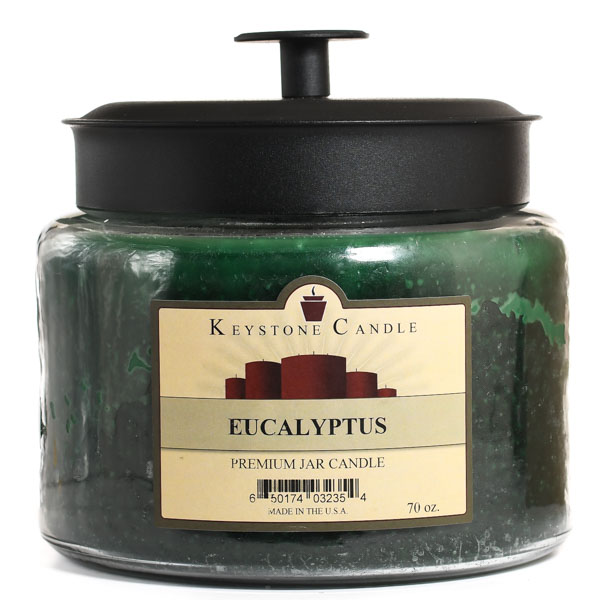 70 oz Montana Jar Candles Eucalyptus