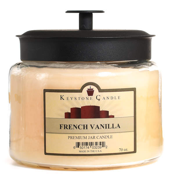 70 oz Montana Jar Candles French Vanilla