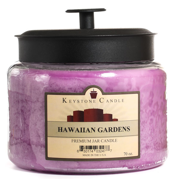 70 oz Montana Jar Candles Hawaiian Gardens