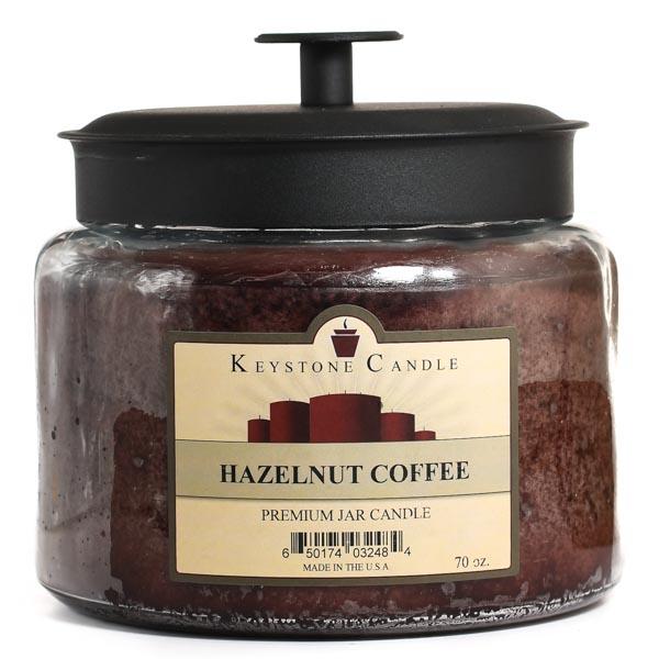 70 oz Montana Jar Candles Hazelnut Coffee