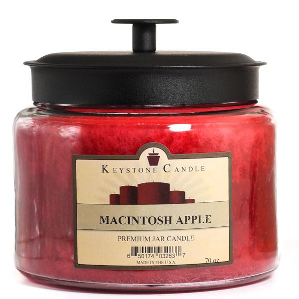 70 oz Montana Jar Candles Macintosh Apple