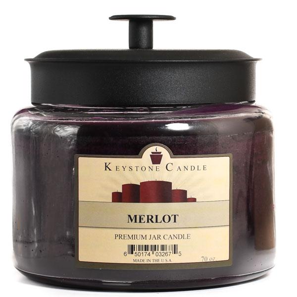 70 oz Montana Jar Candles Merlot