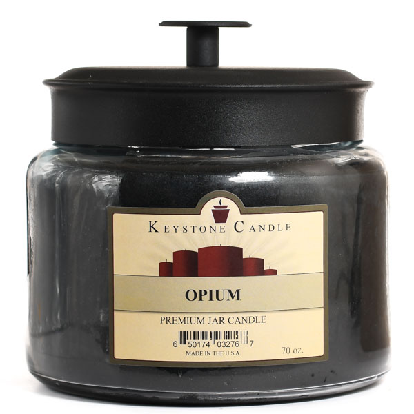 70 oz Montana Jar Candles Opium