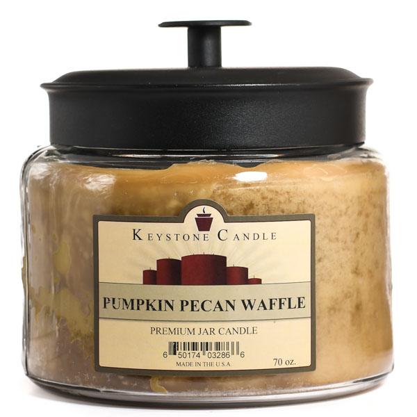 64 oz Montana Jar Candles Pumpkin Pecan Waffles