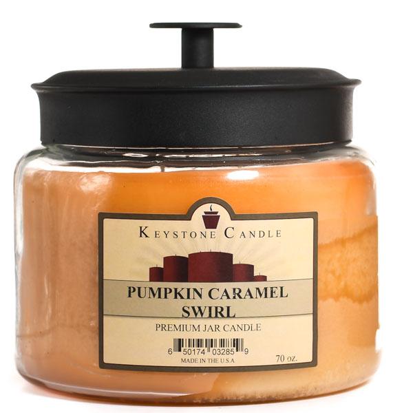 70 oz Montana Jar Candles Pumpkin Caramel Swirl