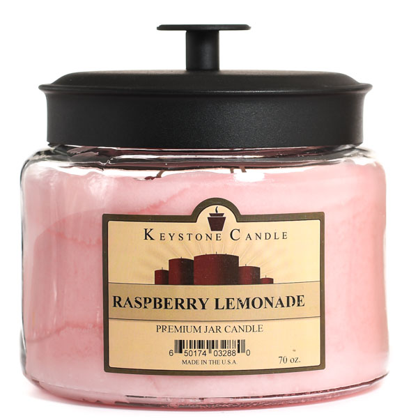 70 oz Montana Jar Candles Raspberry Lemonade