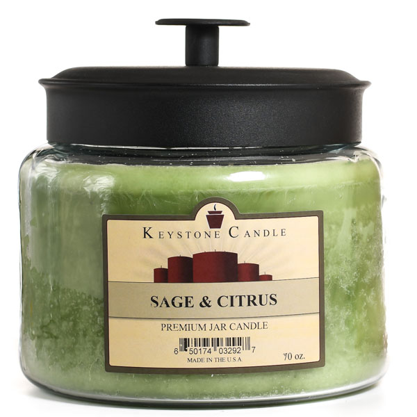 64 oz Montana Jar Candles Sage and Citrus
