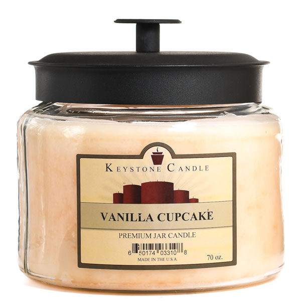 70 oz Montana Jar Candles Vanilla Cupcake