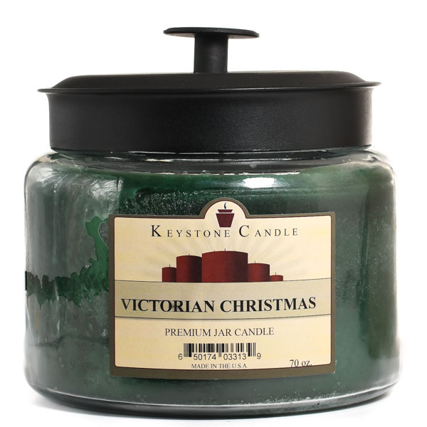 64 oz Montana Jar Candles Victorian Christmas