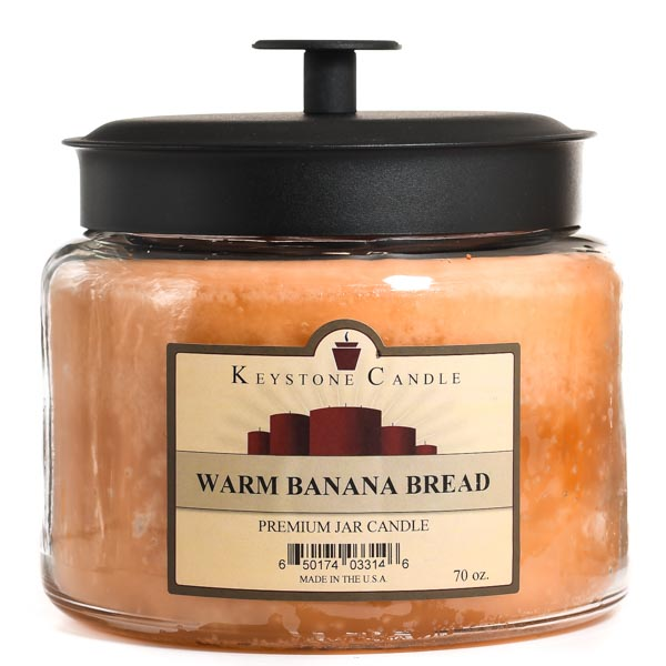 70 oz Montana Jar Candles Warm Banana Bread