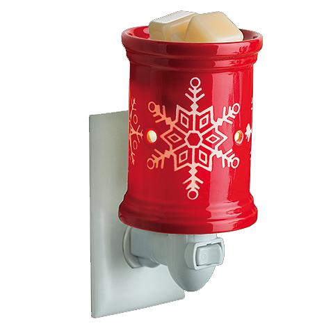 Red Snowflake Mini Tart Burner