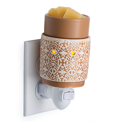 Mini Tart Burner White Terracotta