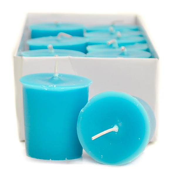 Blue Lagoon Votive Candles