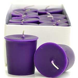 Lilac Votive Candles