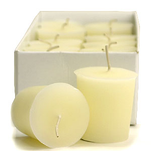 French Butter Cream Votive Candles
