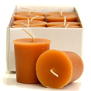 Ginger and Orange Votive Candles