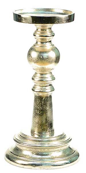 Aluminum Tall Candle Holder