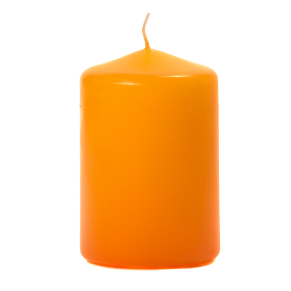 3x4 Mango Pillar Candles Unscented